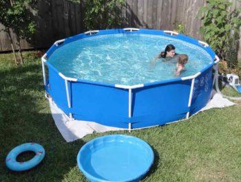Fémvázas medence hosszú távú használatra